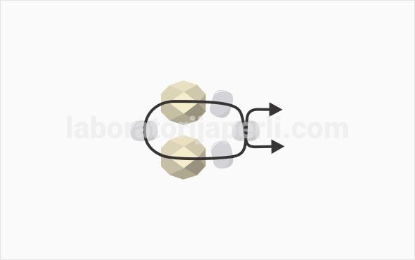 Prsten od brušenih perli korak 1