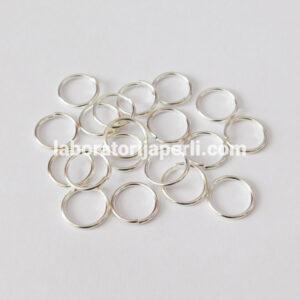 Alke boje srebra 12 mm