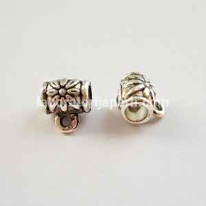 Držač za privezak boje srebra