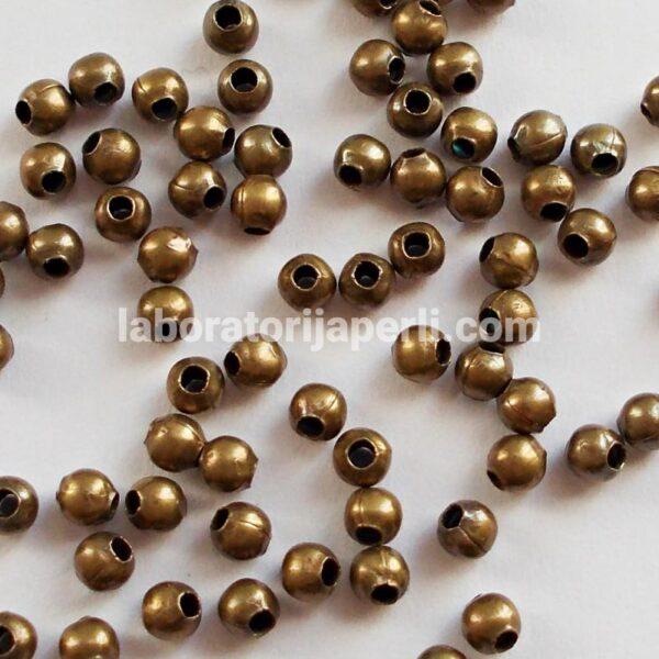 Metalna perla boje bronze