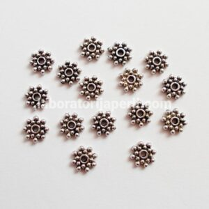 Metalna perla 7 mm