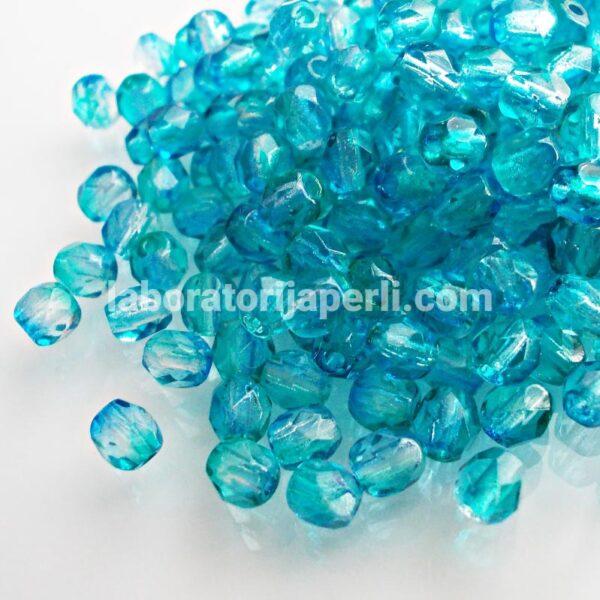 Brušene perle 4 mm