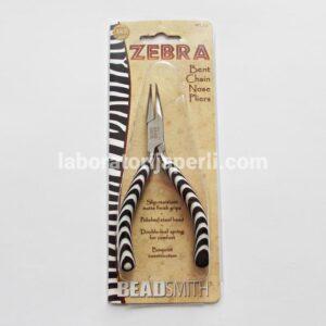 Zebra klešta za nakit savijenog vrha