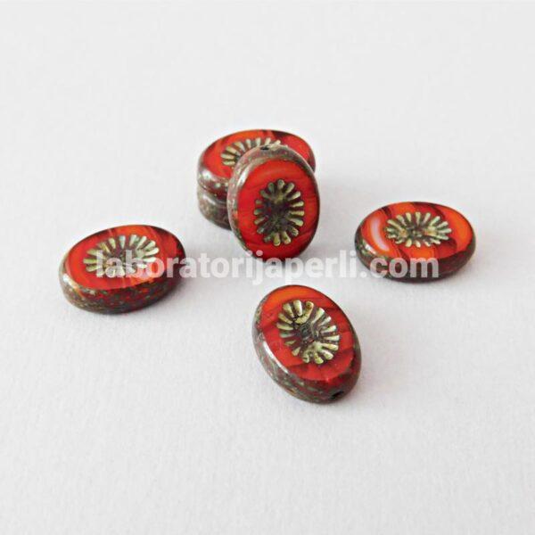Perla ovalna 14x10 mm
