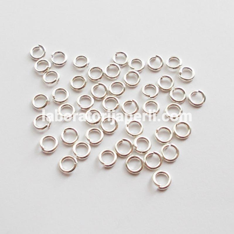 Alke boje srebra 5 mm