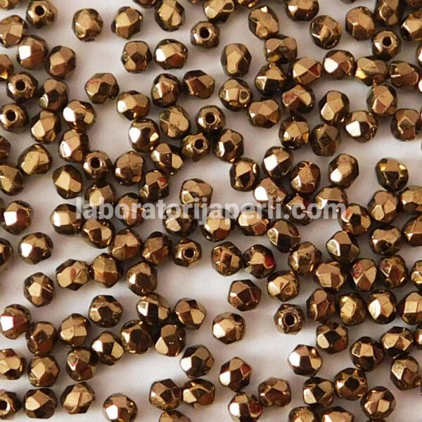 Brušene perle 3 mm