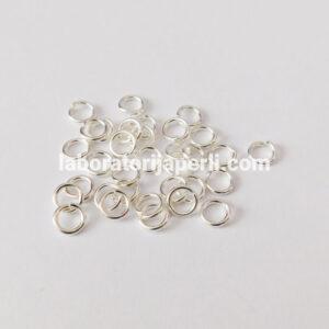 Alke boje srebra 7 mm